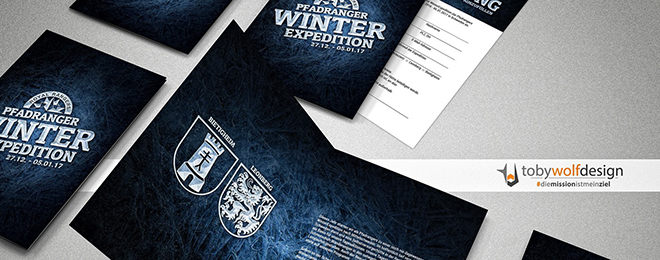 Einladung Royal Rangers Winter Expedition Schweden #tobywolfdesign #diemissionistmeinziel